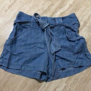 Loft Ann Taylor the from short belted denim shorts